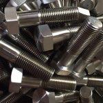 alliage de nickel 600 et 2.4816 goujons de roue din931chinese fournisseur