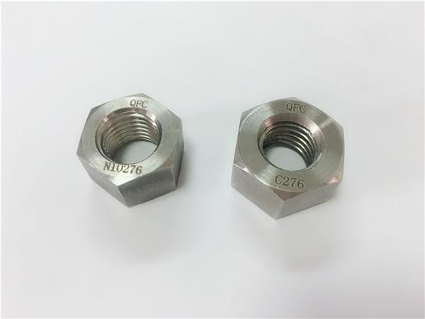 attaches en alliage spécial du fabricant hastelloy c276 noix
