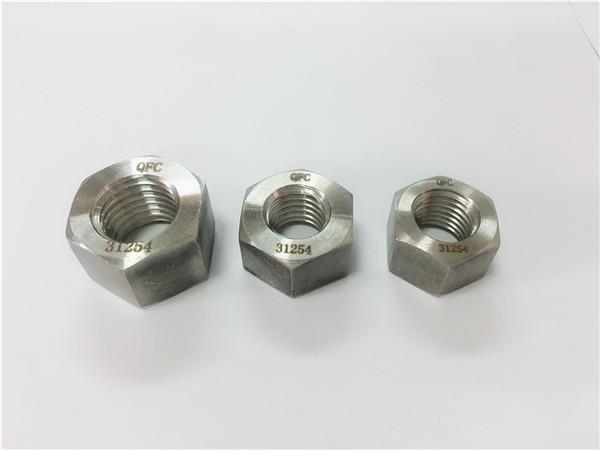 écrou hexagonal duplex en acier inoxydable 2205 / s32205
