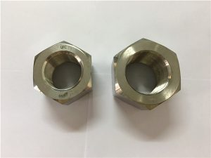 No.111-Fabrication alliage de nickel A453 660 1.4980 écrous hexagonaux