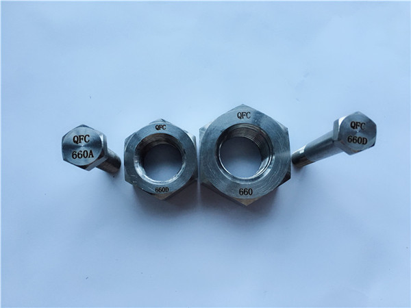 alliage de nickel c22 en 2.4602 tout goujon fileté nus hastelloy c 276
