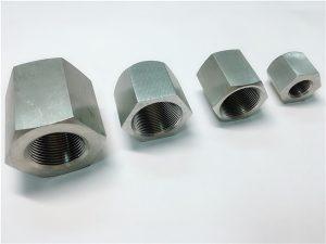 No.31-Usinage sur mesure avec filetage intérieur, écrou hexagonal en acier inoxydable