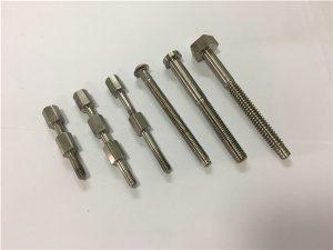 Boulon et écrou de pièce de machine en titane n ° 41-CNC