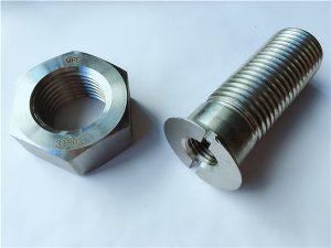 No.55-Boulons et écrous en acier inoxydable duplex 2205 de haute qualité