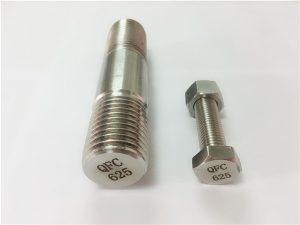 Attaches No.71-625 Inconel en nickel