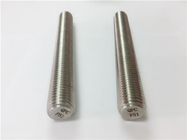 attaches en acier inoxydable duplex2205 / s32205 tiges filetées din975 / din976 f51