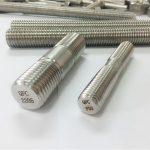 duplex 2205 s32205 2507 s32750 1.4410 fixation de quincaillerie de haute qualité ancre de tige filetée en bois