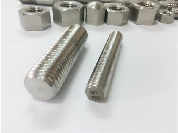 attaches en acier inoxydable f55 / zeron100 tige entièrement filetée s32760