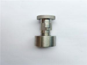 No.95-SS304, 316L, 317L SS410 Boulon de carrosserie avec écrou rond, éléments de fixation non standard