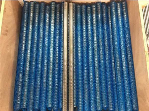 Fixation en acier inoxydable s32760 (zeron100, en1.4501) tige entièrement filetée