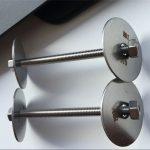 ss310 / ss310s astm f593 fixation, boulons, écrous et rondelles en acier inoxydable