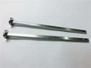 matériel de fixation de matériel fournisseur 316 en acier inoxydable à tête plate à col carré din603 m4 boulon de carrosserie