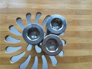 vis hexagonale gr2 en titane gr2 de haute qualité / boulon / écrou / rondelle /